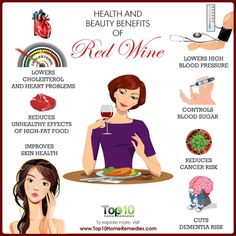 health benefits of red wine Red Wine Health Benefits, Health Tips, Different Types Of Wine, Top 10 Home Remedies, High Fat Foods, Wine Guide, Vintage Wine, Funny Vintage, Vintage Cups