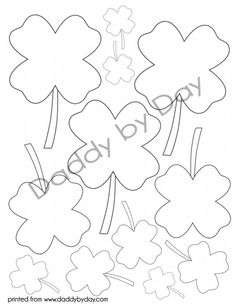 Four Leaf Clover Would Be Nice For St Pattys Applique