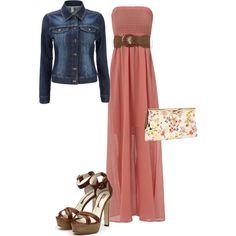 Love maxi dresses - easy, simple, comfy