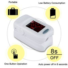 Coming soon: #FLOUREON Fingertip #Pulse #Oximeter #Blood #Oxygen Saturation Pulse Rate LED #monitor