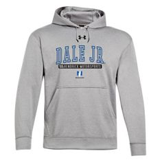Stay warm and support the driver of the No. 88 Nationwide Chevrolet with the classic Under Armour hooded fleece.