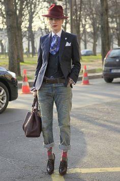 Элегантный Street Style (подборка) / Street Style /