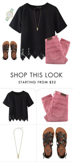 """I had the worst day"" by justice3-1 ❤ liked on Polyvore featuring Nobody Denim, Kendra Scott, Billabong and Kate Spade"
