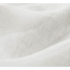 White Sheer Curtain Fabric for Curtains - White sheer linen fabric - Ada & Ina
