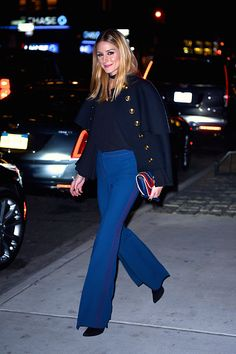 Olivia Palermo seen at the Cadillac House in Manhattan on November 14 2016 in New York City