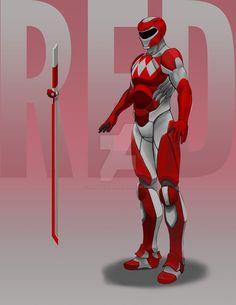 Red Ranger 2 by StevieJIllustration on DeviantArt
