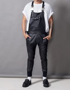 aa9acd777b54 Bleach Project Leather Overalls