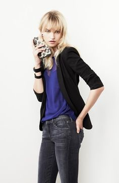 Trouvé Blazer, Ella Moss Tank & Citizens of Humanity Jeans  available at #Nordstrom