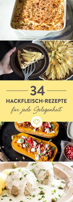 Du bist auf der Suche nach Rezepten mit Hackfleisch oder Mett? Hier haben wir 34 beliebte Klassiker und kreative Gerichte mit Hack für dich gesammelt.