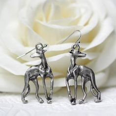 Find More Drop Earrings Information about M11040 Italian Greyhound Earring Metal Grey hound Dangle Earring Dog Memorial Gift,High Quality gift wrapping supplies wholesale,China gift suggestions Suppliers, Cheap gift box for clothes from Morgan Jewelry on Aliexpress.com
