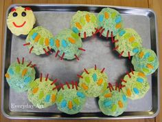 Everyday Art: Caterpillar Birthday Cake