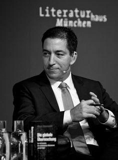 DIE ZEIT im Gespräch: Die globale Überwachung. Glenn Greenwald im Literaturhaus München am 23.5.2014 (© Juliana Krohn)