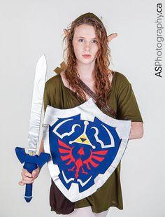Fem Link #cosplay from Legend of Zelda | Anime North 2013