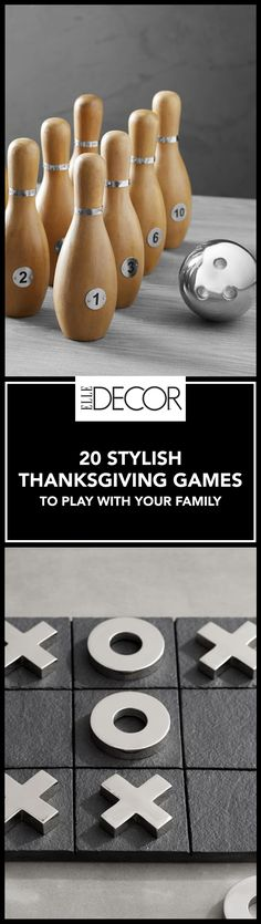 Swap the remote control this Thanksgiving for one of these classic (and stylish) family parlor games and have a far more memorable holiday.