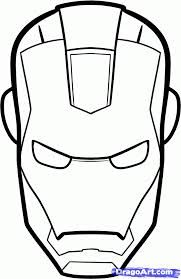 drawing ironman helmet - Google Search
