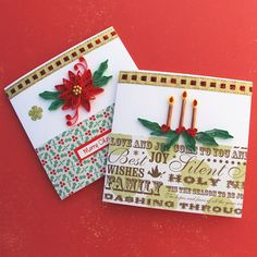 Paper Quilling Christmas Cards Paper Quilled by EnchantedQuilling, $7.00