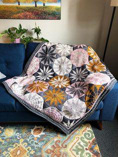 Ravelry: Marguerite Blanket pattern by Sandra Eng
