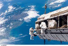 Un día cualquiera de trabajo en la ISS. NASA