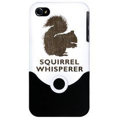 Vintage Squirrel Whisperer iPhone 4 Slider Case $24.50