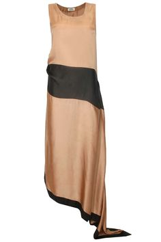 Copper and black color blocked flowy maxi with trail available only at Pernia's Pop Up Shop.#perniaspopupshop #shopnow #happyshopping #designer #newcollection #EZRA #clothing #winterfestive