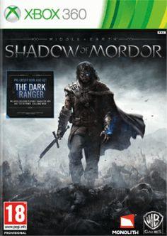 Middle Earth: Shadow of Mordor Xbox 360 Cover Art