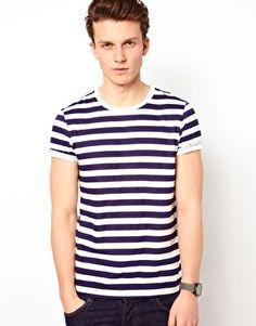 ASOS Stripe T-Shirt With Crew Neck