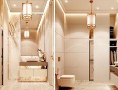 A continuación verás varias ideas para decorar tu casa que te servirán como de partida para elaborar tu proyecto de interiorismo ¡Empezamos! Alcove, Bathtub, Bathroom, Ideas, Moldings, Soothing Colors, White Colors, Bright Curtains, Tall Ceilings