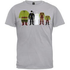 Princess Bride - Wardrobe Line Up T-Shirt | OldGlory.com