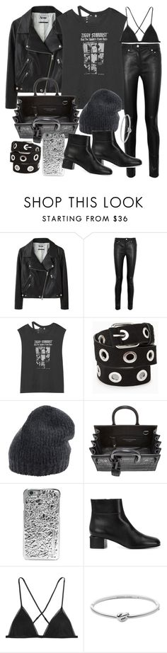 """""""Untitled #19486"""" by florencia95 ❤ liked on Polyvore featuring Acne Studios, R13, MANGO, Roberto Collina, Yves Saint Laurent, Marc by Marc Jacobs, Marni, Kiki de Montparnasse, Michael Kors and women's clothing"""