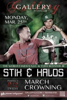 Stix & Halos March Crowning-Mon March 25! Who's coming with? #vegas #party #vip #gallery