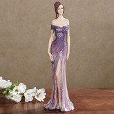 Forever Glamorous Figurine Purple