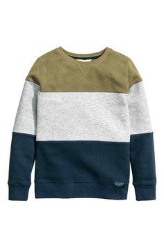 Bluza w bloki kolorów | H&M