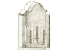 Quorum International Vanguard Persian White Three-Light Wall Sconce | 557-70