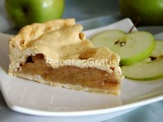 Receta de Pie de Manzana al horno