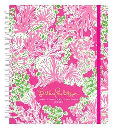 Just in! NEW Lilly Pulitzer 2014-2015 Biggest Fan Agenda, Jumbo - free shipping | The Organizing Store #lillypulitzeragendas #forlillylovers