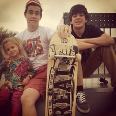 Nash, Hayes and Skylynn Grier... I love them all and I wish I had two older brothers a cool as them