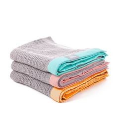CELLULAR BLANKET Our soft cotton cellular blankets in beautiful bright colours with contrasting trims are large enough to be used for swaddling, out and ab...