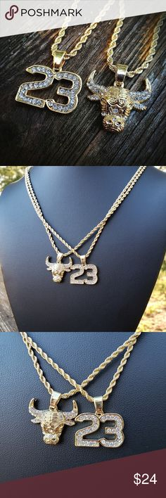 "Iced Out Gold Plated Big SNOWMAN Pendant /& 6mm 30/"" Cuban Chain Hip Hop Necklace"