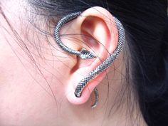 Snake Earring Right/Left 1PC Snake Wrapping Earring by Mintloftcom, $6.16