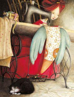 Looks like my childhood Художник - иллюстратор Valeria Docampo