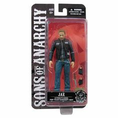 "JAX TELLER 6"" Sons of Anarchy Action Figure Mezco"