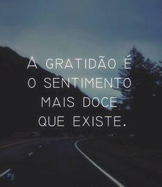 A gratidão é o sentimento