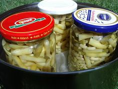 KataKonyha: Zöldbabkonzerv Pickles, Cucumber, Meat, Chicken, Food, Essen, Meals, Pickle, Yemek
