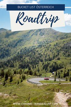Schnapp dir eine Landkarte und starte ins Österreich-Abenteuer! Ich verrate dir meine ganz persönlichen Highlights in Österreich - ich verspreche dir, dass du bestimmt nicht alles kennst! Lass dich für deinen nächsten Urlaub in Österreich inspirieren!  #BucketList #Österreich #Roadtrip #Urlaub #Heimat