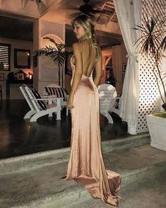 @alexisren wearing her @loversfriendsla slip dress out tonight ✨ #revolvearoundtheworld