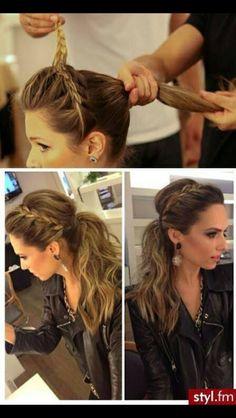 Wedding hair for bridesmaids