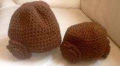 Gorros en crochet de la princesa Leía  Manualidades Mathelo  www.facebook.com/casamathelo