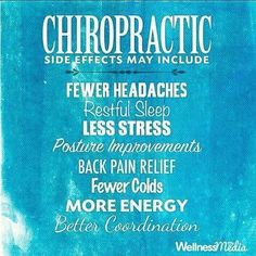Some side effect we want... #getchecked #GetAdjusted #chaparralchiropractic #calgarychiropractor