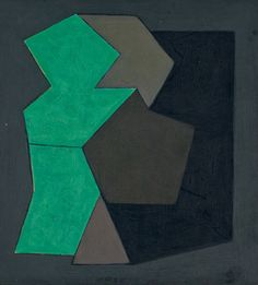Victor Vasarely, Quami, 1950. via Christie's