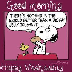 No! More! More!!!!...more Jelly doughnut!!!!